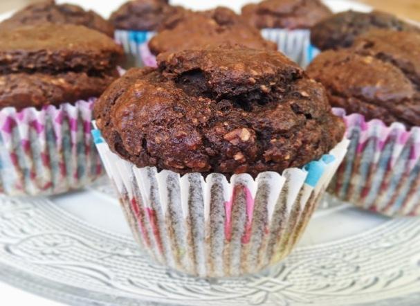chocolade-pompoen-muffins