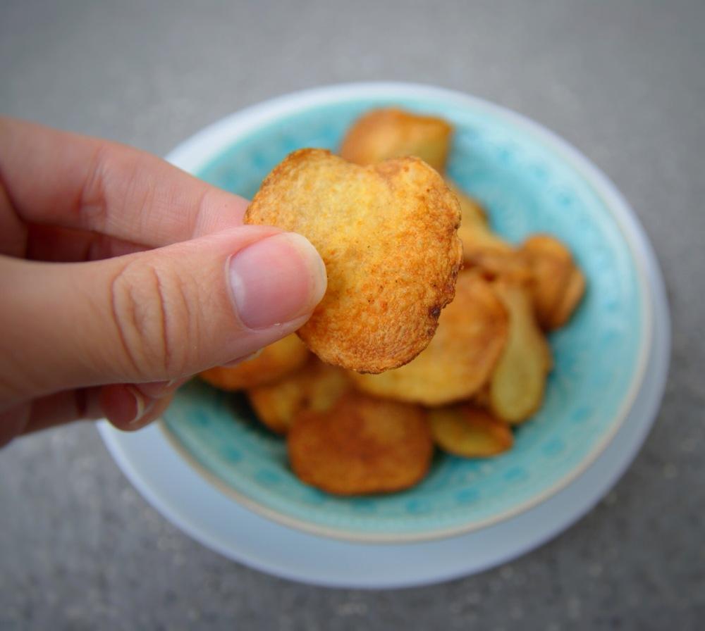 Airfryer, Jeanine Ravensbergen, chips