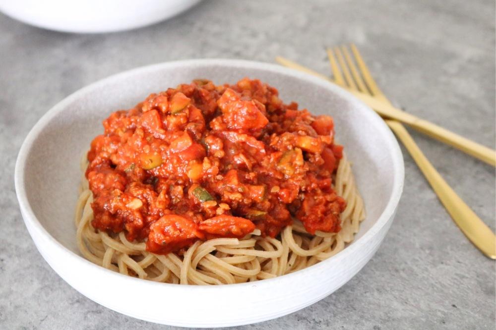 Vegan, vegan spaghetti, Albert Heijn, Jeanine Ravensbergen, Ik leef mijn Dromen